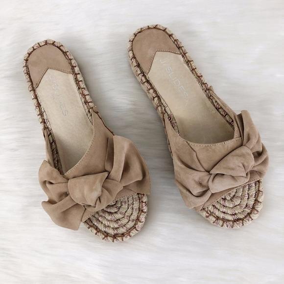 J/Slides Shoes - J/Slides Ritsy Espadrille Slide Sandal